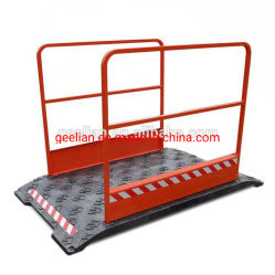 Meilleure qualité de la plaque en acier tranchée couvre/couvercle de la tranchée de câble en plastique
