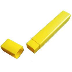 Unterschiedlicher Gelb-rote Farben-Plastikkasten der Größen-K20 für Stahldateien