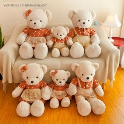 Promotinal faite à la main Classic Teddy Bear Family un jouet en peluche peluches de gros
