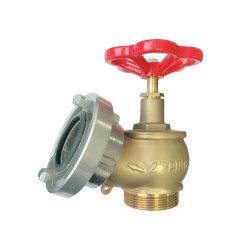 알루미늄 캡이 있는 2'' 및 21/2' 황동 화재 호스 밸브