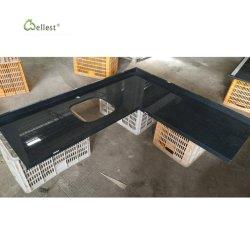 Parte superiore grigia scura di vanità dei ripiani del tavolo di Kitchentops dei controsoffitti del granito G654