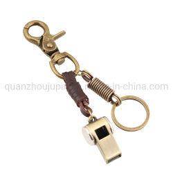 OEM Cowhide Alloy はカスタマイズ可能な Ancient Ways Cowhide Key Chain を復元します