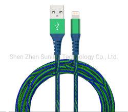 de toebehoren2.4A Usb- Gegevens van de celtelefoon het Laden van de Bliksem van de ElektroMacht Kabel