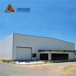 Industrieller Stahlbaugebäude-Stahl-Aufbau