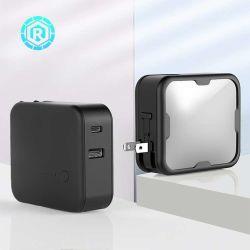 힘 은행 P003를 가진 작은 휴대용 이중 USB 운반 산출 충전기