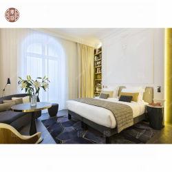 Luxuxbett-gesetzte Polsterung-Bett-Rahmen-hölzerne Möbel-Indonesien-antike Schlafzimmer-Möbel