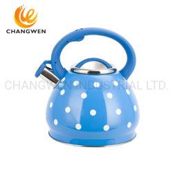 pfeifender Flaschen-Kessel-Wasser-Kessel-pfeifender Edelstahl des Tee-3.0L