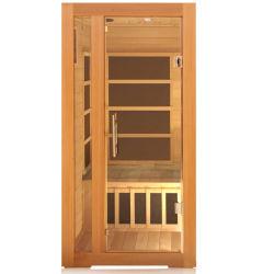 Hölzerne weites Infrarot-Sauna gebildet vom Schierling von Kanada als persönliche Sorgfalt-Karosserien-Schönheits-Gerät