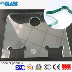 Vidrio templado de seguridad de los materiales de construcción y la ducha el panel de pared