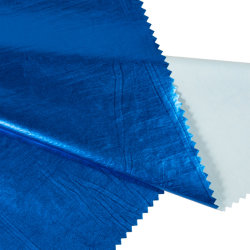 編まれた100%年のポリエステル反射ファブリックジャケットの衣服