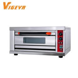 Vigevr 201 equipamentos de preparo do material 1 Plataforma 1 Bandeja forno de pizza da série coroa eléctrica