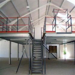 Entrepôt de stockage Stockage largement utilisé la plate-forme d'acier rayonnage Mezzanine