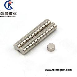 D5X5 Aimant en néodyme haute qualité des matériaux industriels du disque