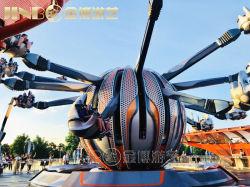 12 24 sièges d'armes de l'Amusement Rides de la famille de l'espace de la navette le contrôle de soi manèges d'avion