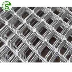 L'exportation 1.22m de large en aluminium de couleur argent Amplimesh Guangzhou Factory