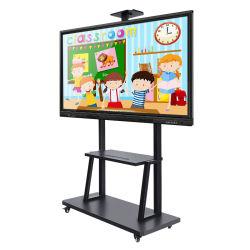 Pantalla LCD multitáctil de pizarra interactiva óptica todo-en-uno PC