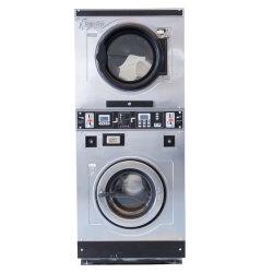 Aço Inoxidável Personalizada automática operada por moedas de auto-atendimento da indústria de lavandaria/limpeza da máquina de lavar roupa industriais Utilizados para Fins Comerciais/Hotel/hospital/Hotel