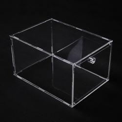 Transparent en acrylique portable amovible High-Heel Sneaker Chaussures Boîte d'affichage