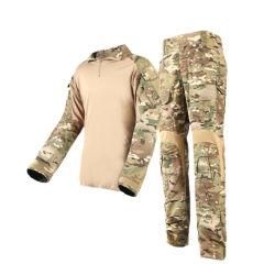 Cp Color мужская тактической борьбе с Airsoft лягушка костюм, футболка брюки в военной форме или борьбы с футболка