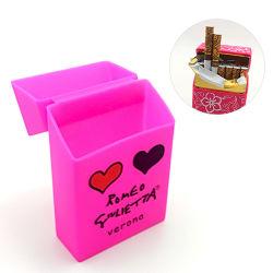 Caixa de cigarros da Luva de silicone pode ser personalizada de logotipo de impressão