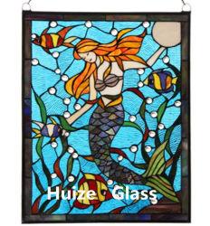 Travando Vitrais Tiffany Leadlight Igreja Janela Painel de vidro