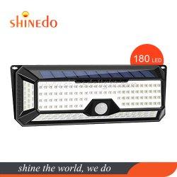 180 PC Capteur solaire Imperméable Motion Wall Lamp pour Garden nuit