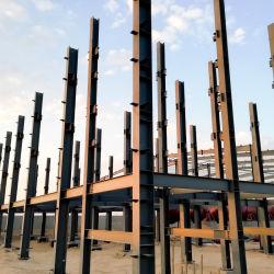 Регулируемый кронштейн для крепления стальных структуру для животноводства