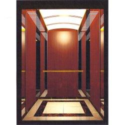 ステンレス鋼ミラーのホームパノラマ式の6人の乗客のエレベーター