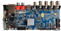 8CH Ahd DVRのマザーボードまたはビデオレコーダーのボード