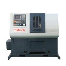 Macchina orizzontale del tornio di CNC di alta precisione per metallo con Priceck6136 poco costoso