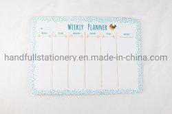 Hete Magnetische Droog van de Verkoop wist de Wekelijkse Magnetische Ontwerper Whiteboard van de Kalender