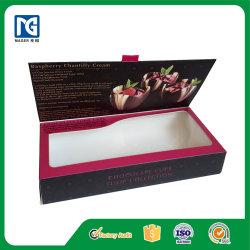 Contenitore di regalo impaccante di carta personalizzato fabbrica del cioccolato del commestibile di alta qualità