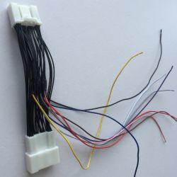 Collegare automatico di Pin di abitudine 30 del cablaggio di T audio video per tipo differente di automobile 28AWG dei veicoli