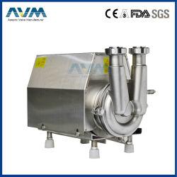 Grau Alimentício higiênico sanitários em aço inoxidável bomba centrífuga para água de cerveja de leite