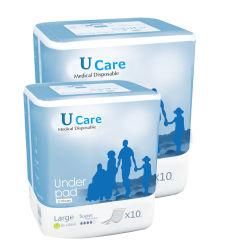 Les soins médicaux jetables pour incontinence alèse adulte 60X90