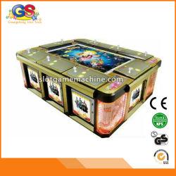Máquina de juego de juego de fichas de la pesca de la arcada del vector de juego de los pescados