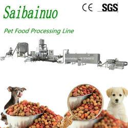 Planta de la máquina de procesamiento de alimentos para perros