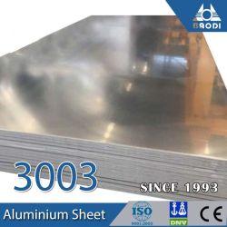 Алюминий простой лист 4-x8 с пленки PE с одной стороны 3003 3004 3005 3105