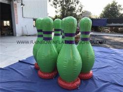 Sfera di bowling umana gonfiabile divertente per i giochi di sport esterno