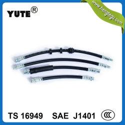 YuteのAudi A4のための黒い前部適用範囲が広いハイドロリックブレーキのホース