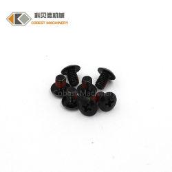 De Zwarte Schroef met hoge weerstand van het Toestel van de Kaas van de Kleur Hoofd Elektronische
