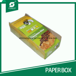 Dobrar papel kraft revestido de caixas de apresentação com a impressão em cores