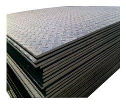 Matériau de construction en acier doux Q235 Plaque en acier à damiers antiglisse