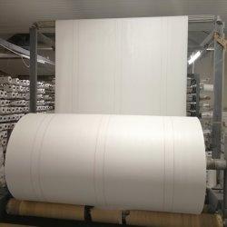 Il fornitore pp tessuti bianchi ha stampato il polipropilene che ricopre il prodotto intessuto circolare normale per i grandi sacchetti di Samall
