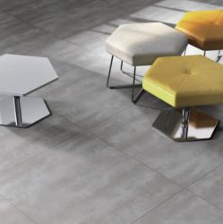 Schlafzimmer-hellgraues Porzellan-keramische Bodenbelag-Wand-Fliese
