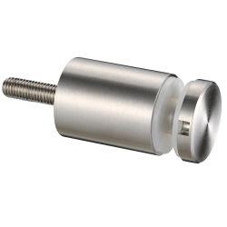 Connettore In Vetro Inox Per Sistema Di Ringhiera Con Balcone
