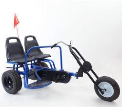Morden pédale double de la conception de sièges enfants Mini Go Kart