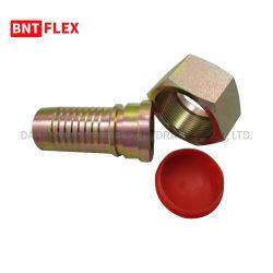 カラー亜鉛めっきHのタイプ油圧ホースフィッティングの/Chinaの炭素鋼の油圧ホースフィッティングおよびアダプターが付いている炭素鋼