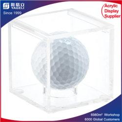 Balle de Golf cas acrylique pour panier Sports Titulaire d'affichage