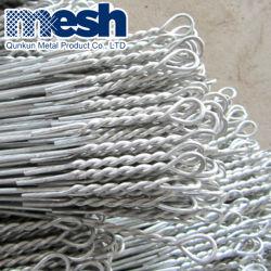 Link Rápido de enfardamento de algodão com fio único Loops Duplo Fardo o fio de ligação